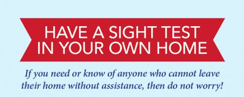 Have a Sight Test in Your Home